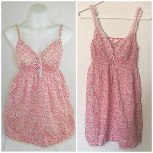 Victorias Secret Angels Pink Floral Chemise Gown